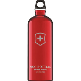 Sigg Traveller Bottle 1l red